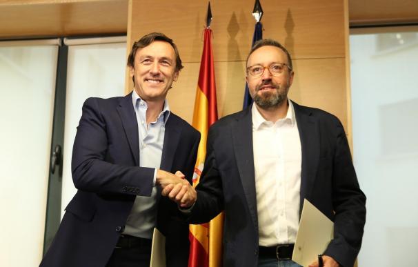 Ciudadanos avisa a Podemos ante la reforma constitucional para reducir aforados: si pide referéndum se puede frustrar
