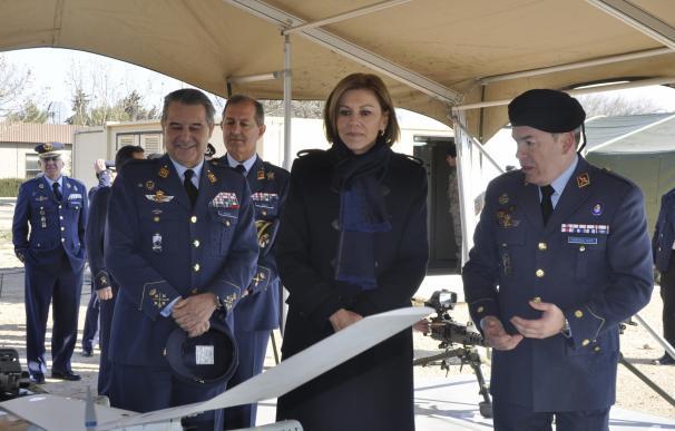 La ministra de Defensa se reunirá con el alcalde de Huesca para abordar la situación del cuartel Sancho Ramírez