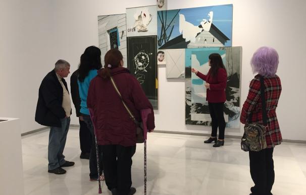 Las artistas de la muestra 'Anticipándonos al futuro' protagonizan las visitas guiadas del Área de Cultura