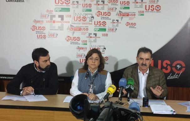 """USO exige regular las contratas y empresas multiservicios para acabar con la """"lacra de la precarización"""""""
