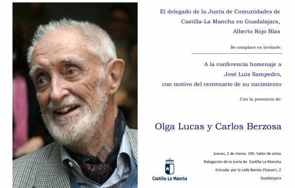 Junta celebra este jueves en Guadalajara el centenario de José Luis Sampedro con una conferencia sobre su vida y obra