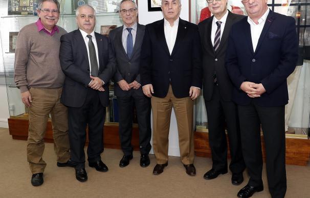 Alejandro Blanco se reúne con los presidentes de las nuevas federaciones olímpicas españolas