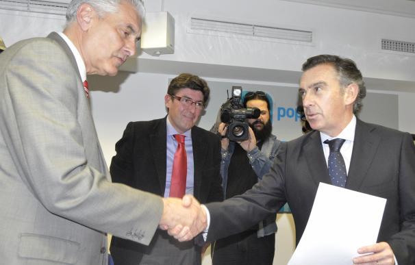 Beamonte, candidato a la Presidencia del PP Aragón, presenta 3.000 avales y seguirá en la alcaldía de Tarazona