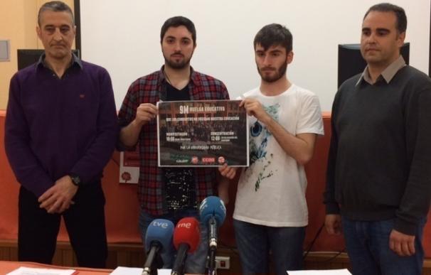 """Alumnos y docentes de la UC se suman a la huelga de 9M ante la """"degradación"""" de la Universidad Pública"""