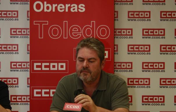 """Villaraco pasa el testigo a Arroyo al frente de CCOO Toledo y le insta a combatir """"la precariedad de los más jóvenes"""""""