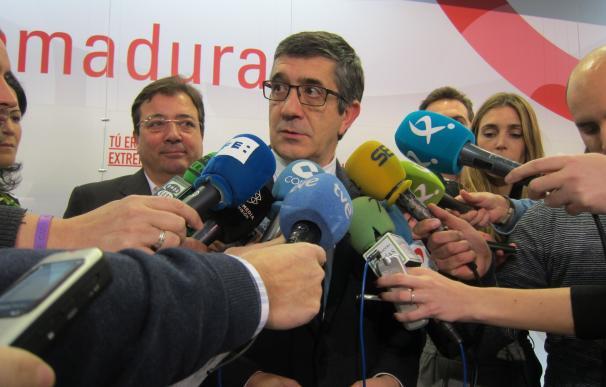 Patxi López (PSOE) desembarca este miércoles en Barcelona en su campaña como precandidato