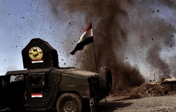 Diversas zonas de Mosul siguen bajo las garras de Estado Islámico (EI).