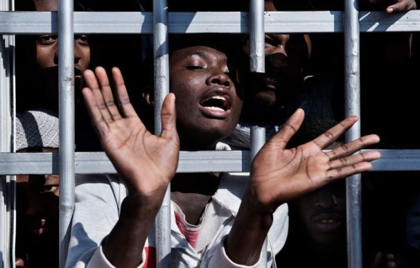 El 75 por ciento de los niños sufren abusos en la ruta migratoria hacia Italia