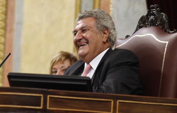 El Congreso inicia los trámites para encargar el retrato de Jesús Posada por un máximo de 72.600 euros