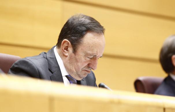"""Sanz admite que """"todos"""" deben aprender de la bronca del último Pleno del Senado, pero defiende cómo dirigió el debate"""
