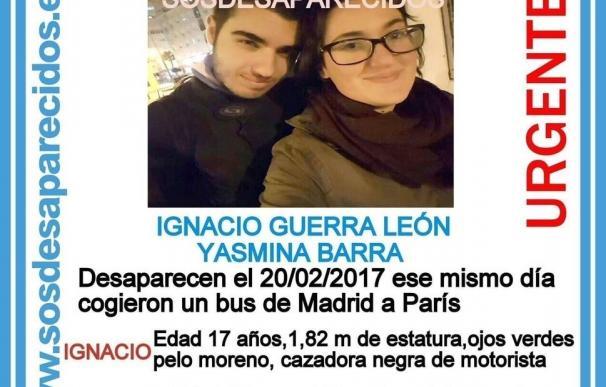 Una pareja de 17 años desaparece tras comprar un billete de autobús Madrid-París pero temen que sea una fuga