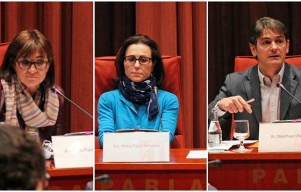 Marta, Mireia y Oriol Pujol