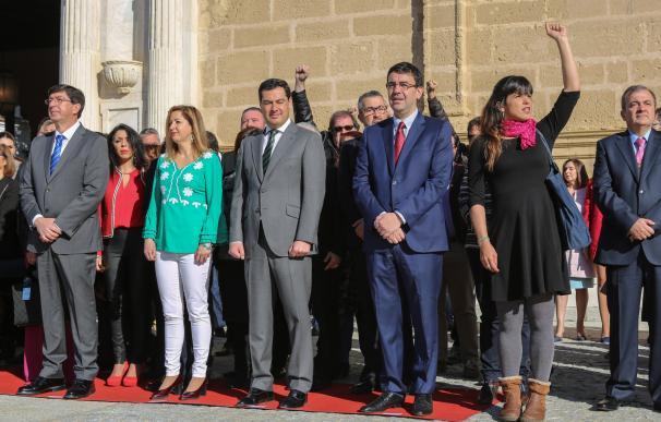 """Rodríguez: """"Andalucía no debe servir de granero de votos para Rajoy ni de plataforma para Díaz en su carrera política"""""""