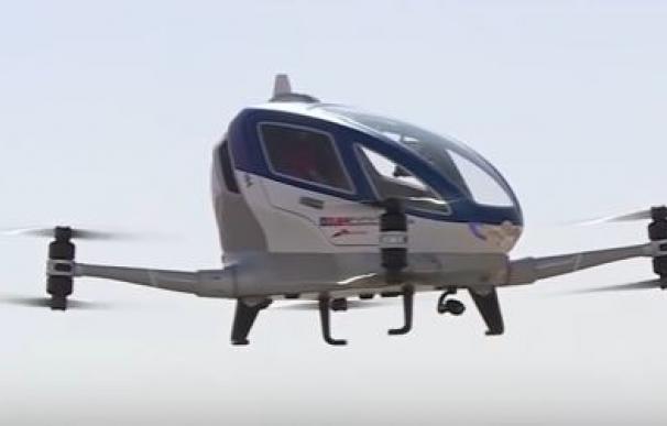 Así será el taxis volador 'anti-atascos'.