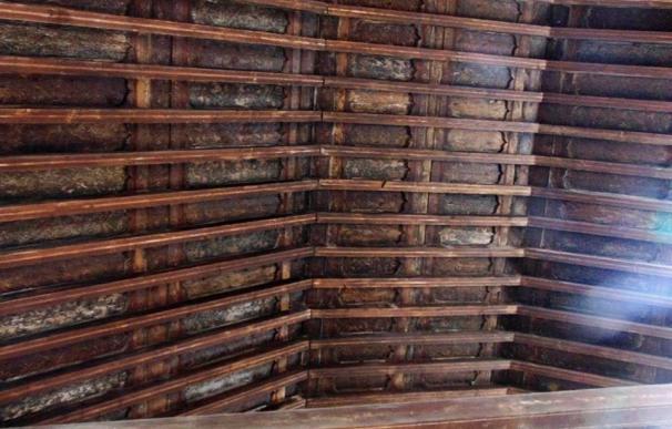 Los vecinos de Las Majadas (Cuenca) se movilizarán para recaudar fondos y salvar el artesonado de su iglesia
