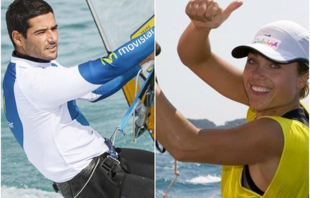Iván Pastor y Blanca Manchón, campeones de España de RS:X
