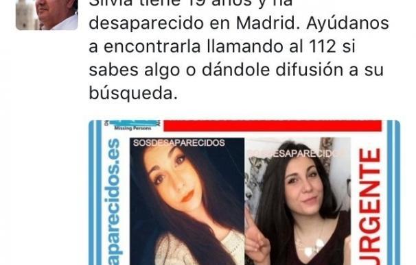El ministro Zoido se suma a la campaña por redes sociales para hallar a la joven salmantina desaparecida el viernes