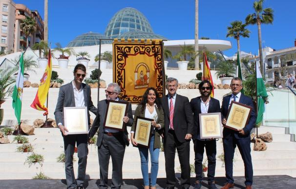 Estepona distingue a Daniel Casares, Alejandro Simón Partal, Ana Fargas, Inocencio Alarcón y Emaús por el 28F