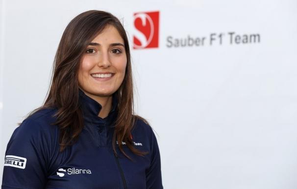 La colombiana Calderón ficha como piloto de desarrollo de Sauber