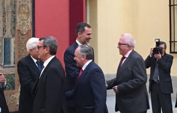 Maldonado representa a Junta en cumbre Cotec Europa que reúne en Madrid a jefes de Estado de España, Italia y Portugal