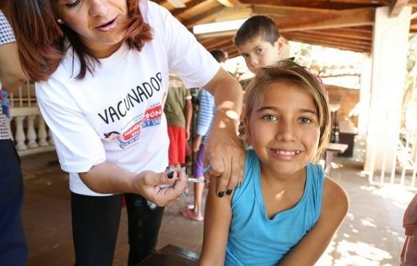 Más de la mitad de los países del mundo no vacunan lo suficiente del sarampión