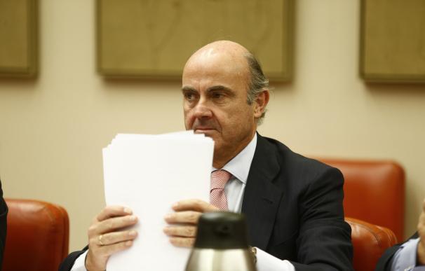 Guindos explicará el miércoles en el Senado las líneas de su departamento y la privatización de Bankia