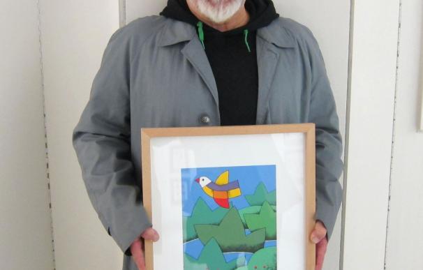 """Sierra, el pintor """"nacido de la calle"""" que tenía que haber sido escritor, recibe el día 21 el reconocimiento del TAC"""