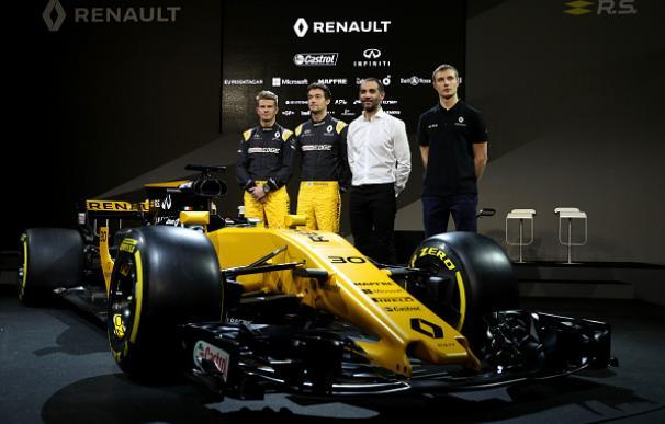 Renault presenta el R.S.17, su nuevo coche para el Mundial 2017
