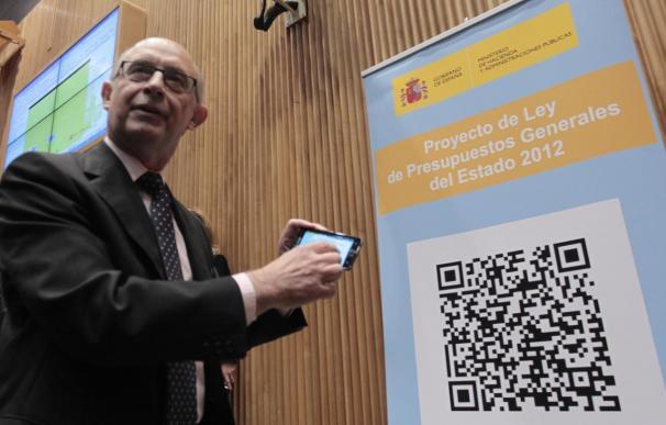 """Montoro: el Presupuesto de 2012 es el que """"menos perjudica"""" al crecimiento"""