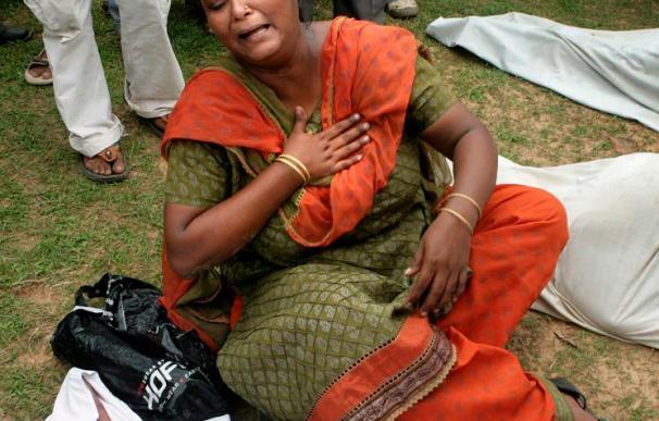 Al menos 71 muertos por un sabotaje maoísta contra el expreso Calcuta-Bombay
