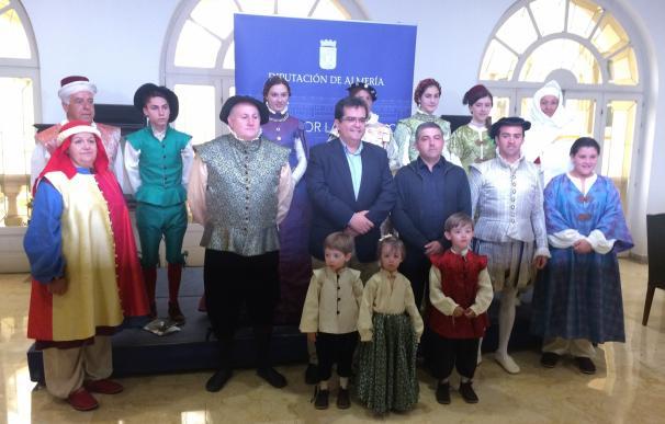 El municipio de Padules se vuelca con la recreación histórica de la Paz de Las Alpujarras