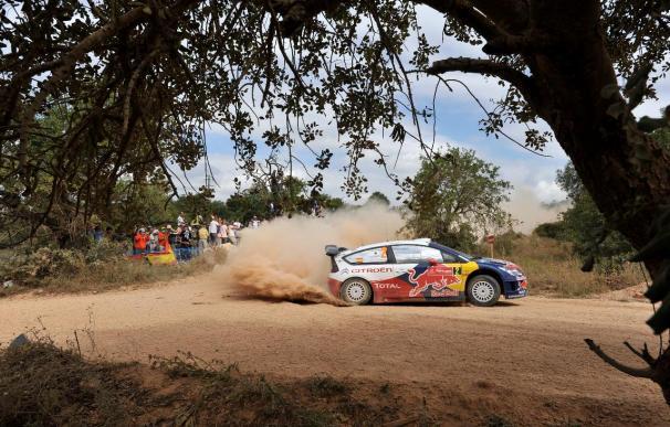 Ogier y Sordo luchan por el liderato en el Rally de Portugal
