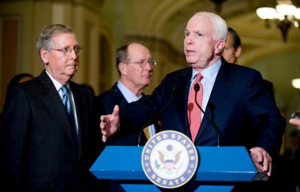 Senado aprueba 60.000 millones de dólares para guerras de Irak y Afganistán