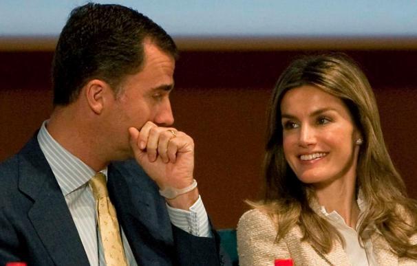 Los príncipes destinarán sus 140.000 euros de la herencia de Balada a discapacitados de Menorca