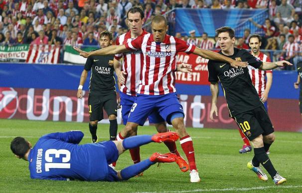 Atlético y Barcelona, favoritos para la Liga