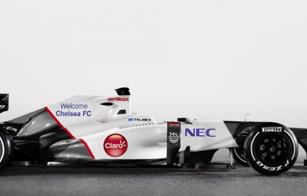 El Chelsea, nuevo patrocinador de la escudería Sauber de Fórmula 1