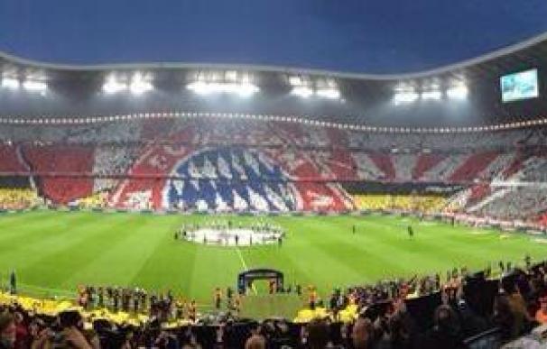 Mosaico en el Allianz Arena