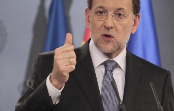 """Rajoy dice que """"la agenda reformista no parará hasta el fin de la legislatura"""""""