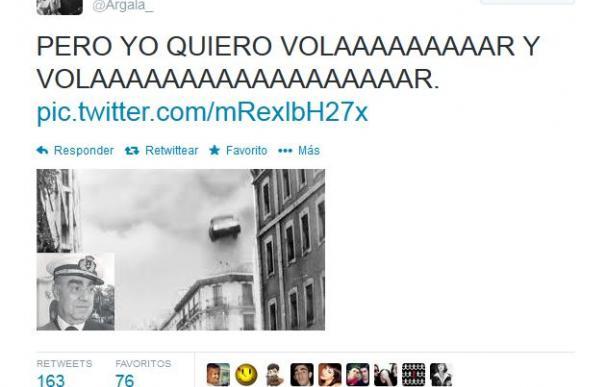 El mensaje lanzado en Twitter de uno de los internautas detenidos