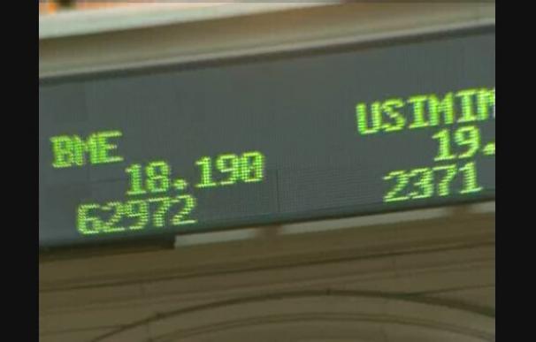 El Ibex-35 baja un 10,8 por ciento en mayo afectado por la crisis de la deuda europea