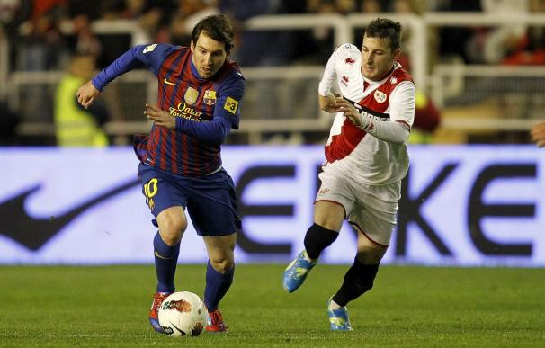 Rayo Vallecano v FC Barcelona - Liga BBVA