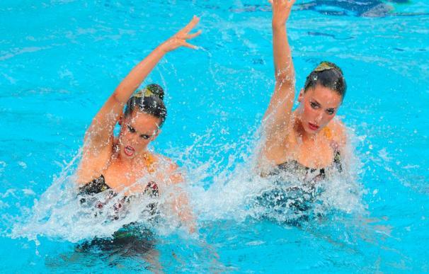 España, segunda en los Campeonatos de Europa de Natación tras el ejercicio técnico de equipos