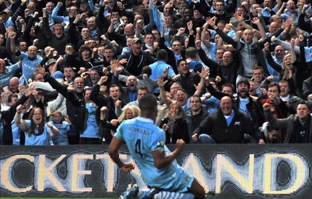 1-0. El Manchester City bate al United y asalta el liderato de la Premier