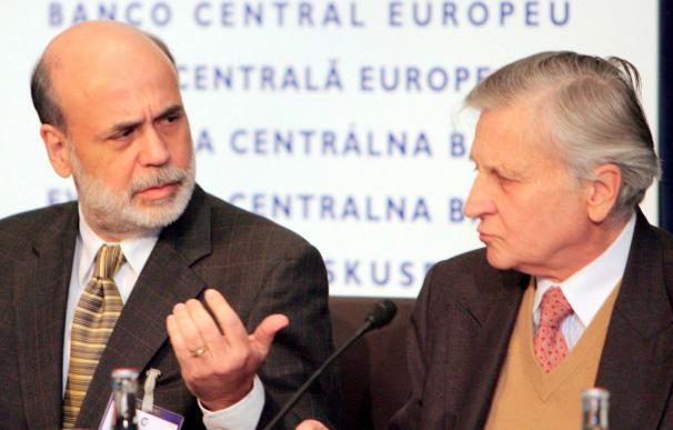 Bernanke y Trichet destacan el papel de las economías emergentes