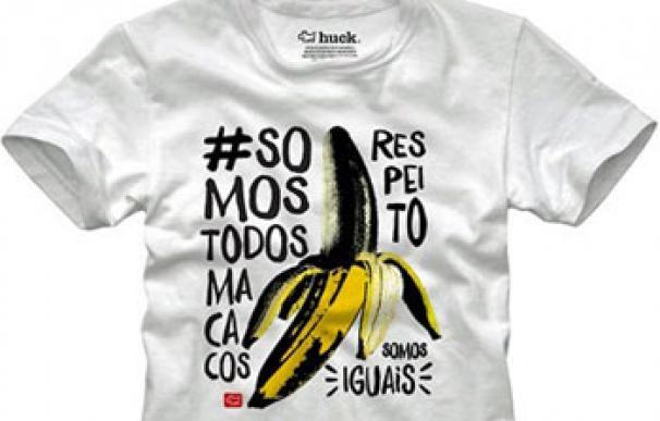 """Camiseta """"somos todos monos"""""""