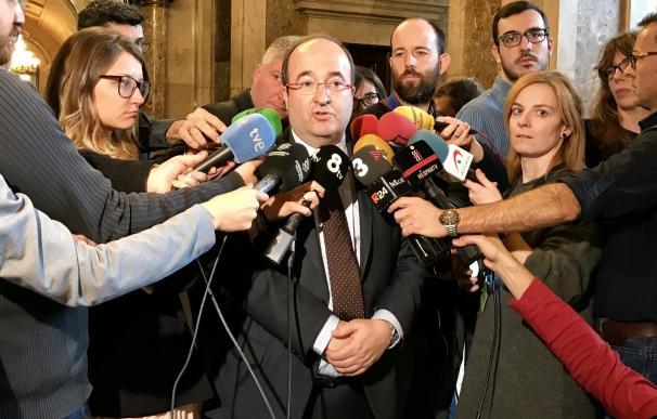 """Iceta asegura que hay diálogo entre Gobierno y Generalitat: """"Sé que están hablando"""""""