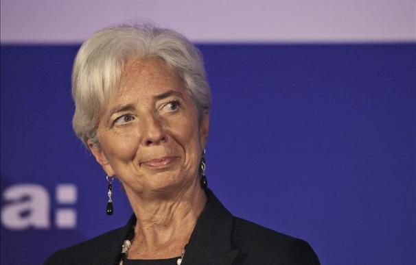 Lagarde advierte a EE.UU. que si Europa flaquea también lo hará su economía
