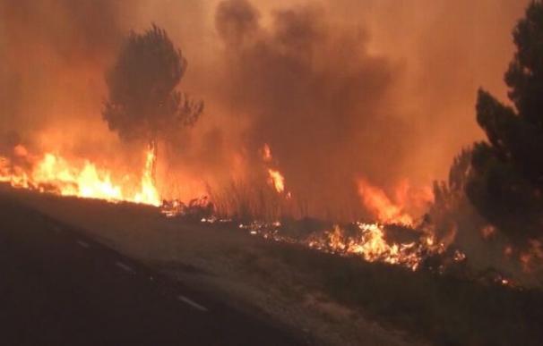 El número de incendios y hectáreas afectadas baja, pese a los últimos grandes focos del fin de semana