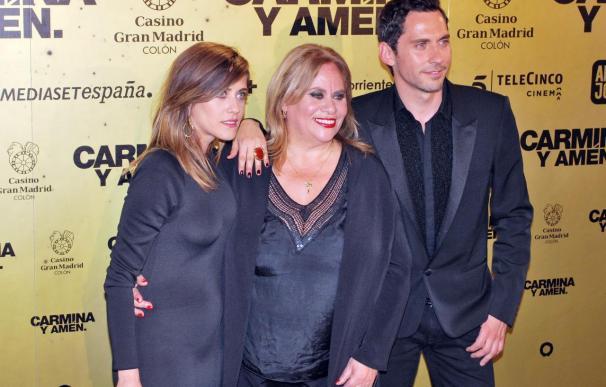 Multitudinario estreno de Carmina o amén de Paco León