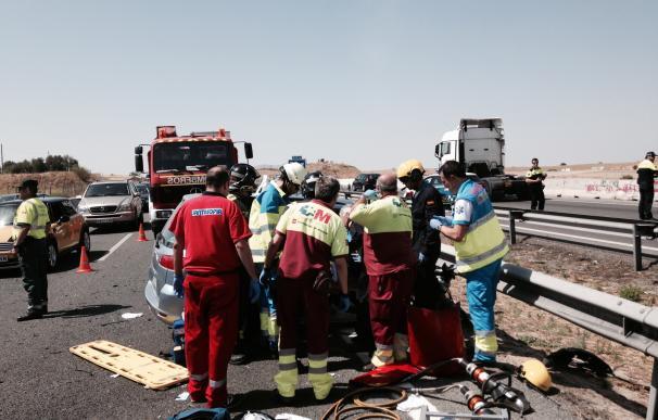 Un total de seis personas mueren este fin de semana y nueve resultan heridas en seis accidentes de tráfico